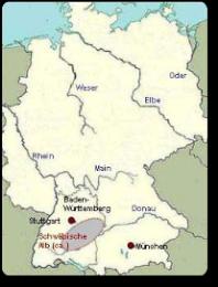 Schwäbische Alb Karte Städte.Schwäbische Alb Albcasa